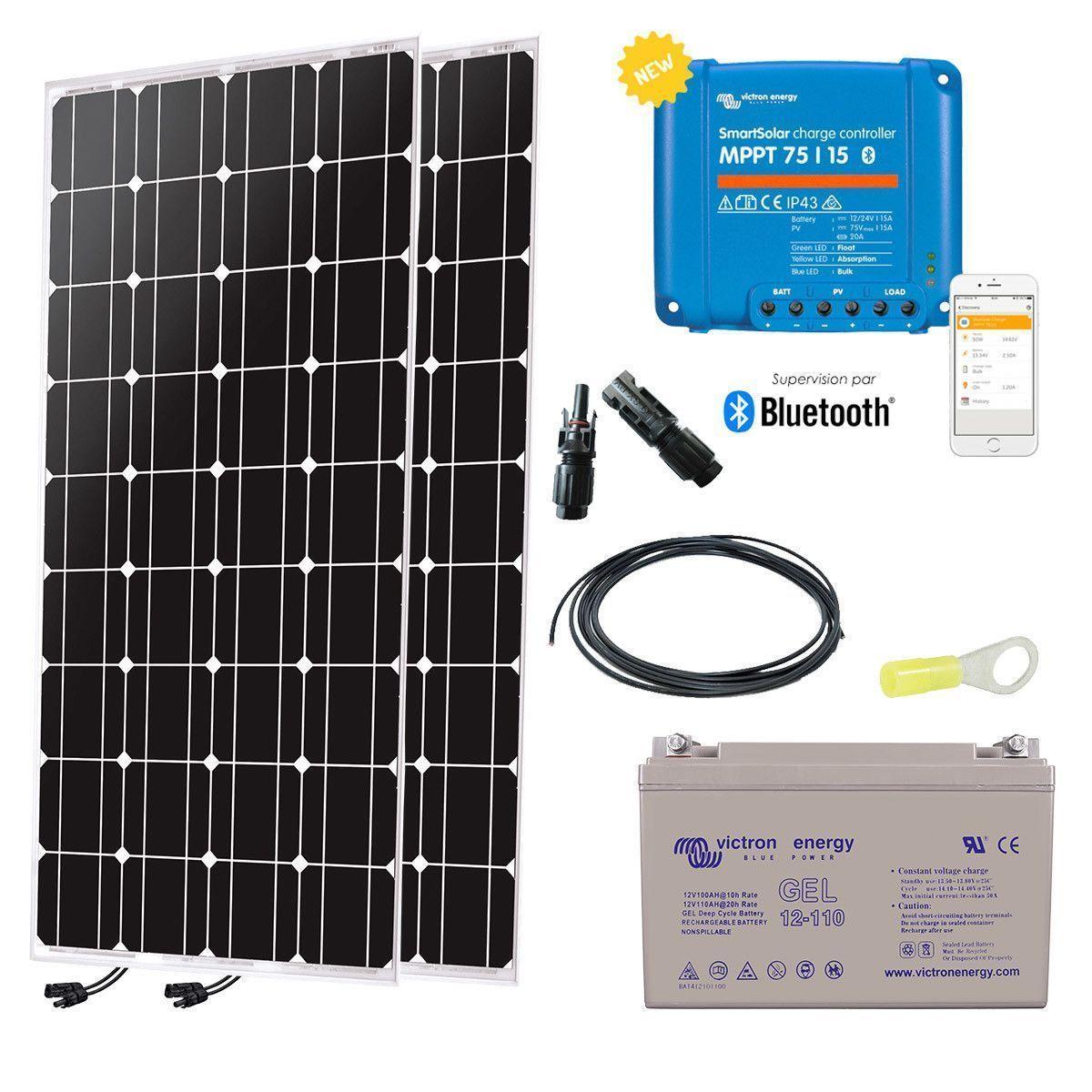 Kit solaire autonome 12v 200w - Kit solaire autonome 1000w ...