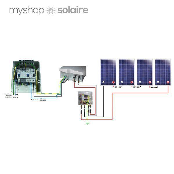 Guide de montage kit solaire autoconsommation soladin web - Onduleur electrique pour maison ...