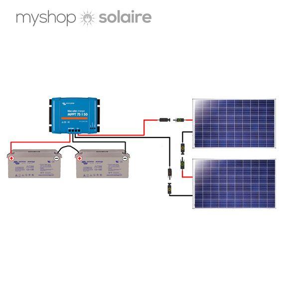guide de montage kit solaire autonome 24v 500w. Black Bedroom Furniture Sets. Home Design Ideas