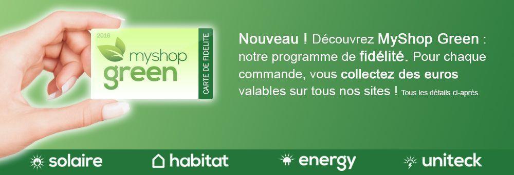 Myshop green programme de fid lit - Programme de fidelite ...