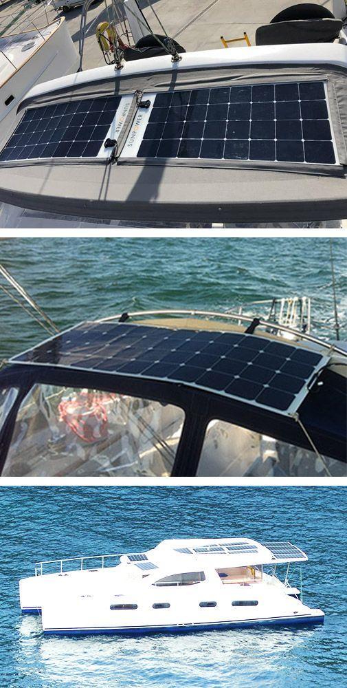 kit panneau solaire rigide bateau