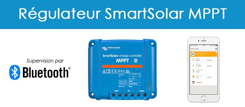 SAV - regulateur de charge SmartSolar MPPT