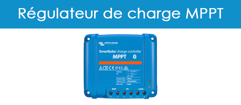 SAV - regulateur de charge MPPT