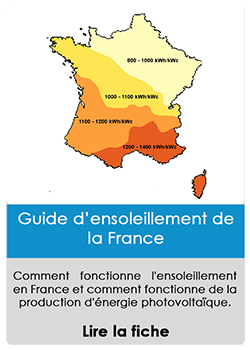 Guide de l'ensoleillement en France