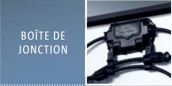 Kit solaire 1120w autonome afrique premium - Boite de jonction ...
