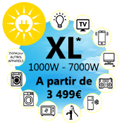Kit solaire taille XL