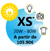 Kit solaire taille XS