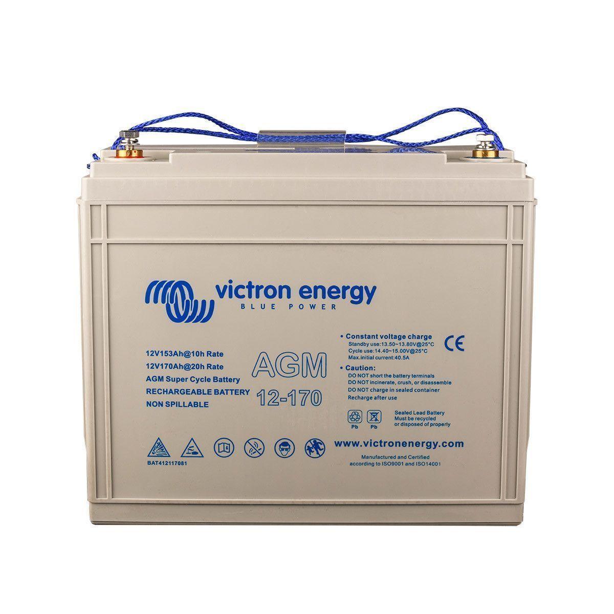 batterie agm 12v 170ah super cycle victron energy. Black Bedroom Furniture Sets. Home Design Ideas