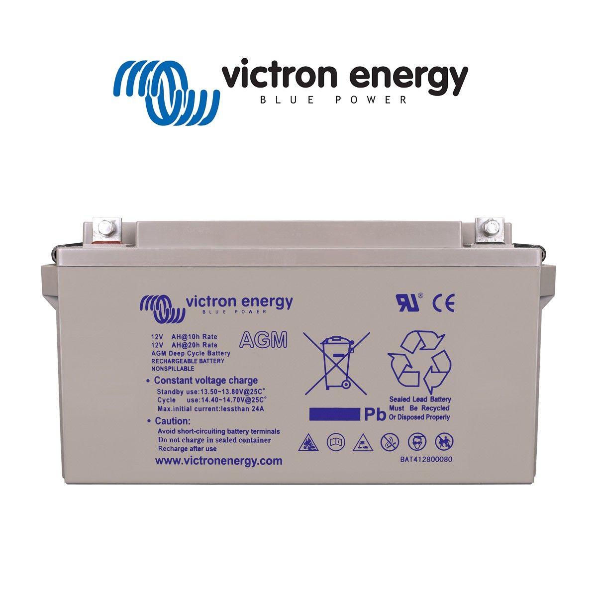 batterie solaire 60ah agm 12v victron energy. Black Bedroom Furniture Sets. Home Design Ideas