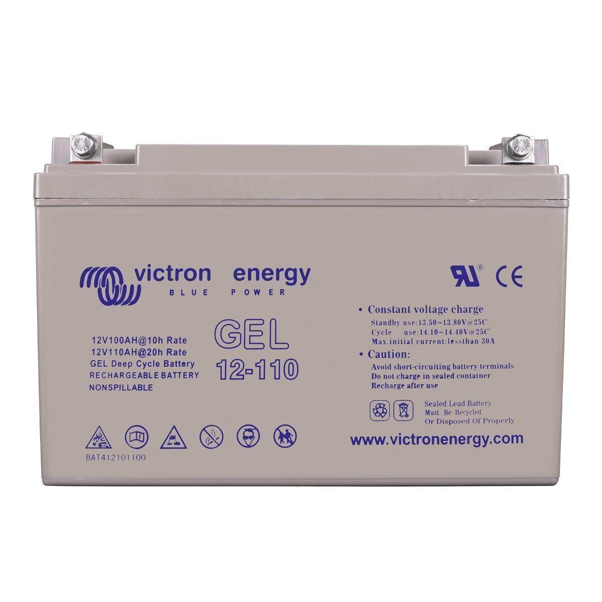 batterie solaire 110ah gel 12v victron energy. Black Bedroom Furniture Sets. Home Design Ideas