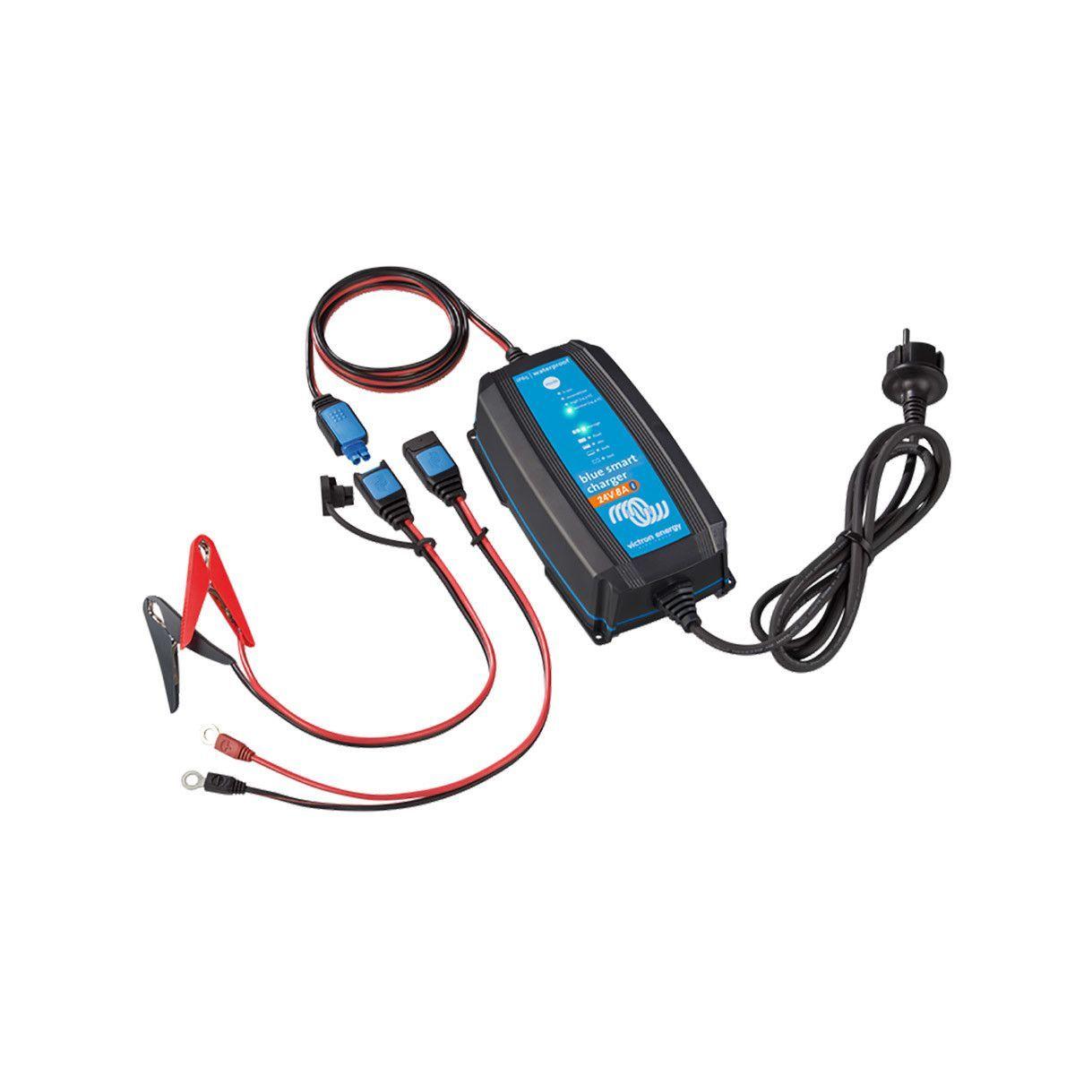 8a avec connecteurs dc Chargeur blue smart ip65 24v