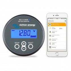 Controleur de batterie Victron Energy BMV-712 Smart