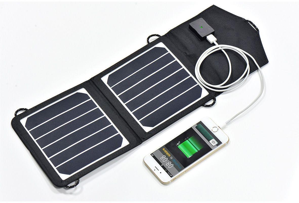 Chargeur solaire pliable 2x3w hautes performances mysuncharger for Gartenpool 3 x 2