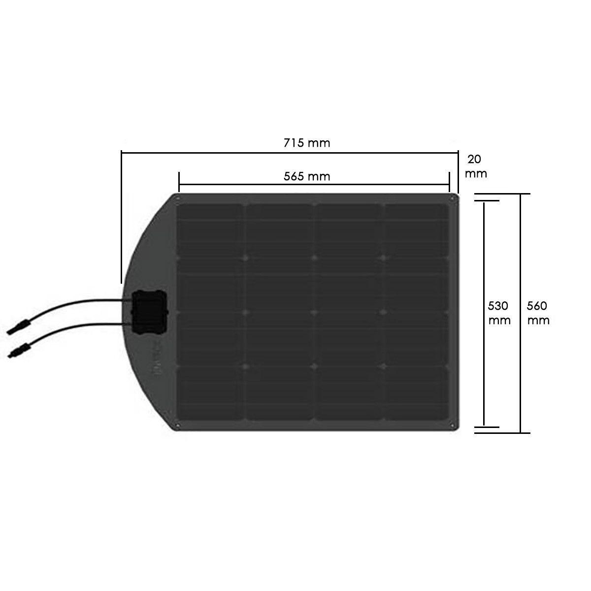 panneau solaire flexible unisun mf mono uniteck. Black Bedroom Furniture Sets. Home Design Ideas