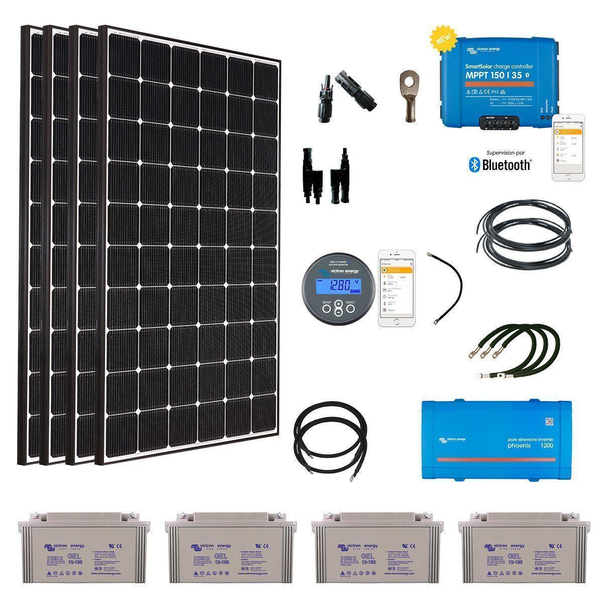 Raccorder des panneaux solaires à RV