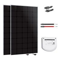 Kit solaire 300W back-contact 12 ou 24V Uniteck - version 2x150W