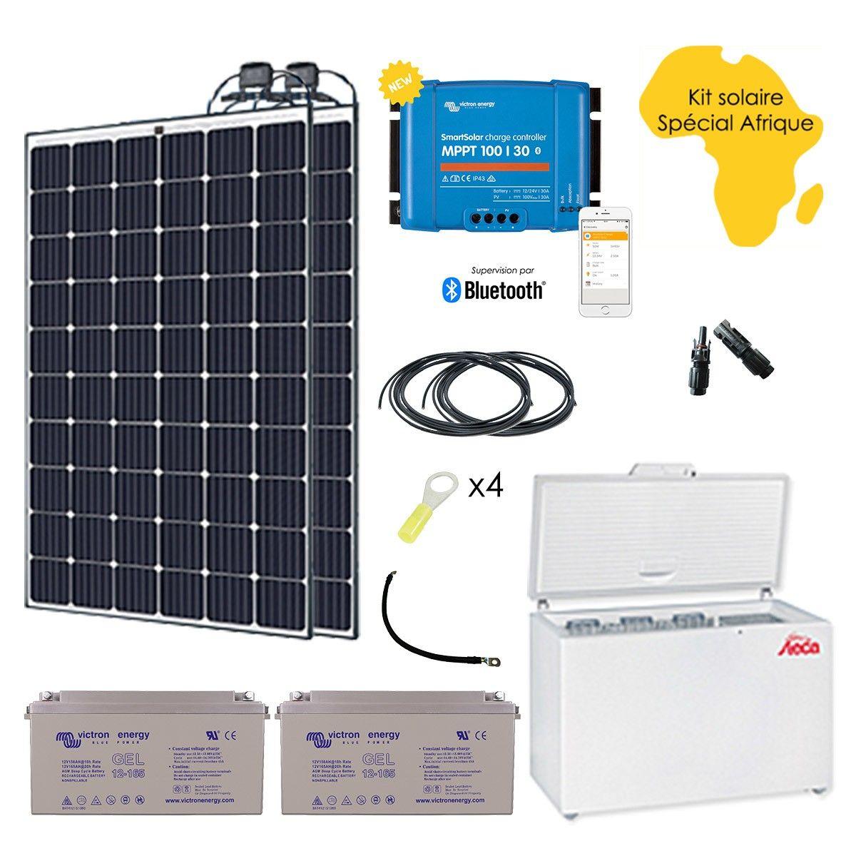 kit solaire sp cial afrique 560w r frig rateur cong lateur steca 240l. Black Bedroom Furniture Sets. Home Design Ideas