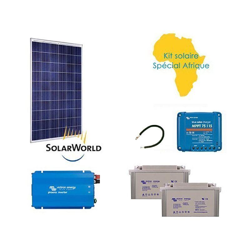 Kit solaire 250w autonome sp cial afrique - Kit solaire autonome 1000w ...