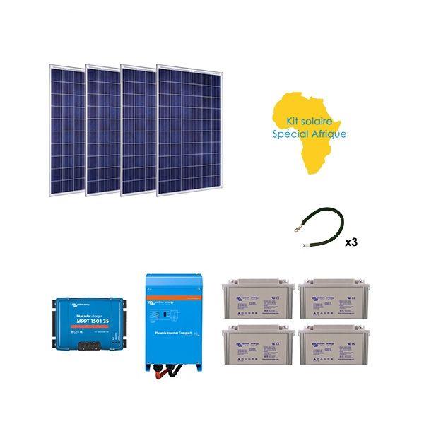Kit solaire 1000w autonome sp cial afrique - Kit solaire autonome 1000w ...
