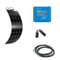 kit solaire 110W 12V semi-flexible camping-car ETFE Sunpower