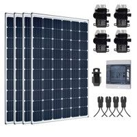 Kit Solaire 1200W Autoconsommation Enphase - Plug & Play