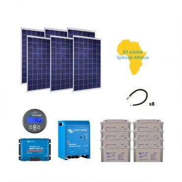 Kit panneau solaire special afrique
