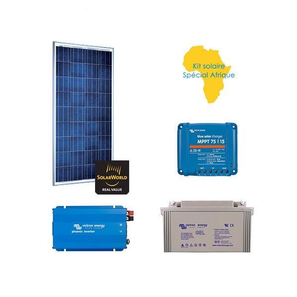 kit solaire 150w autonome sp cial afrique. Black Bedroom Furniture Sets. Home Design Ideas