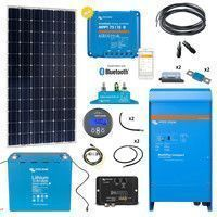 Kit solaire 160W Tiny House Lithium