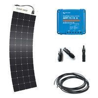 Kit solaire 170W (4x12) flexible camping-car / fourgon