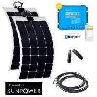 Kit solaire 220W semi-flexible camping-car