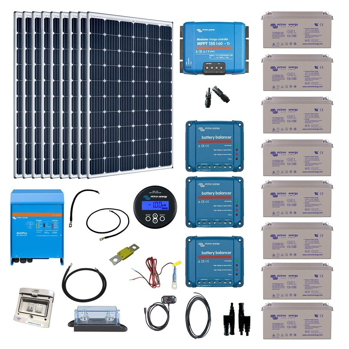 kit solaire site isol 220v excellent kit solaire solarworld raccordable au rseau w with kit. Black Bedroom Furniture Sets. Home Design Ideas