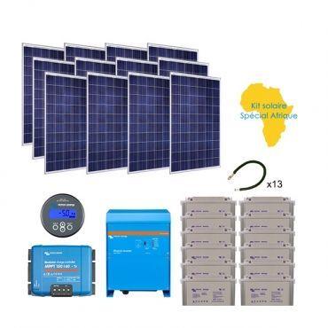Kit panneau solaire afrique