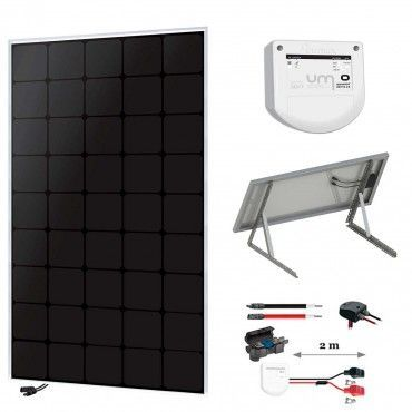 Kit solaire 150W back-contact + MPPT / Accueil