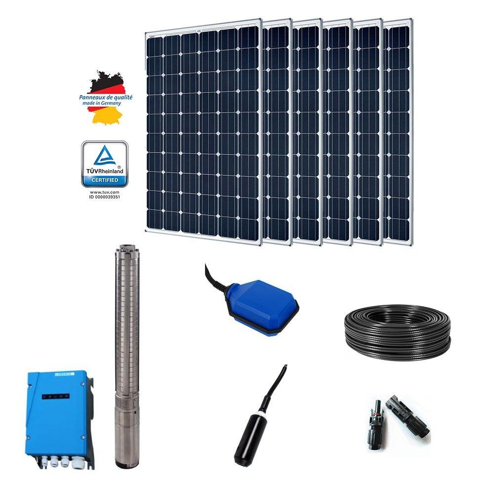 kit pompage solaire 1800w ps2 4000 immerg e. Black Bedroom Furniture Sets. Home Design Ideas