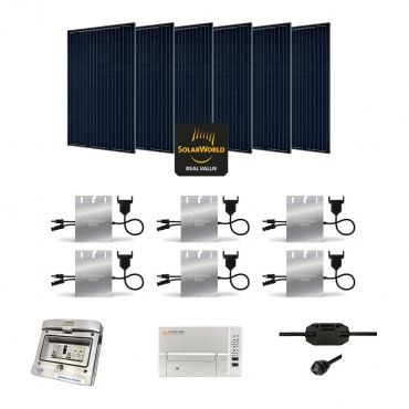 kit solaire 1710w autoconsommation enphase plug play. Black Bedroom Furniture Sets. Home Design Ideas