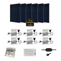 Kit Solaire 1680W Autoconsommation Enphase - Plug & Play
