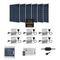 Kit Solaire 1800W Autoconsommation Enphase - Plug & Play