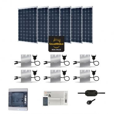 Kit solaire 1800w autoconsommation enphase plug play for Panneau solaire plug and play