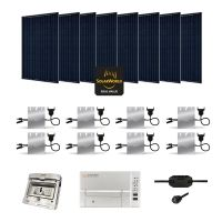 Kit Solaire 2240W Autoconsommation Enphase - Plug & Play