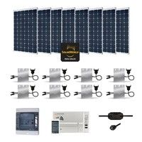 Kit Solaire 2400W Autoconsommation Enphase - Plug & Play