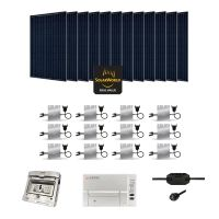 Kit Solaire 3360W Autoconsommation Enphase - Plug & Play