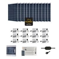 Kit Solaire 3600W Autoconsommation Enphase - Plug & Play