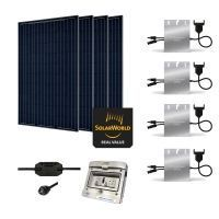 Kit Solaire 1120W Autoconsommation Enphase - Plug & Play