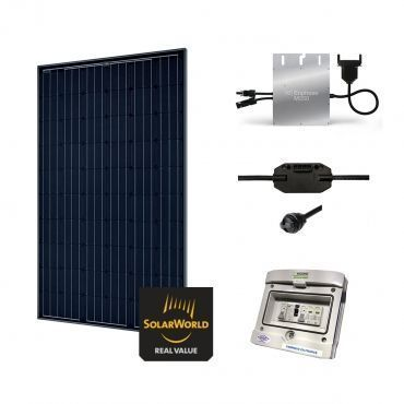 Kit Solaire 285W Autoconsommation - Plug & Play / Kit d'autoconsommation sans batterie