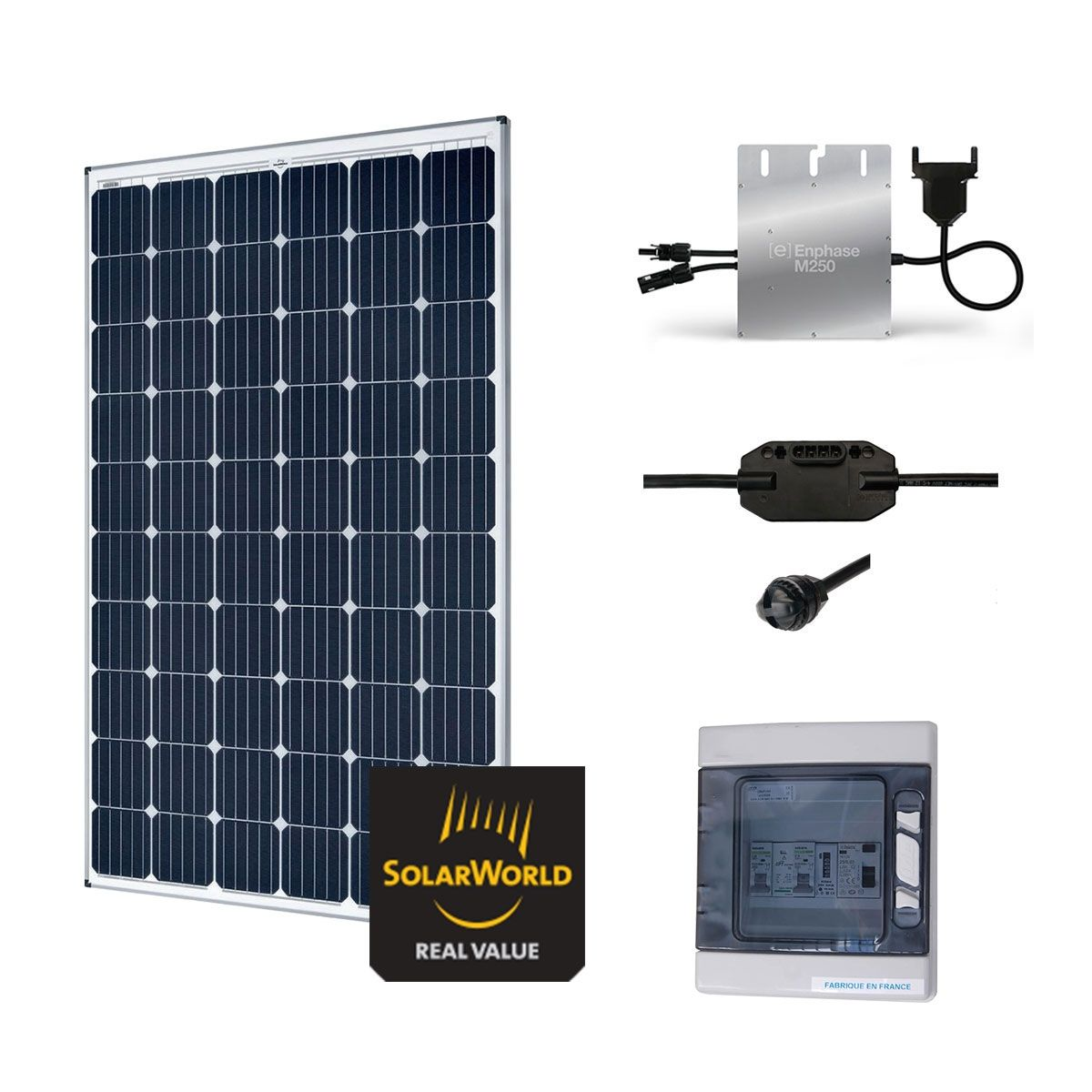 Kit solaire 300w autoconsommation plug play ebay for Panneau solaire plug and play