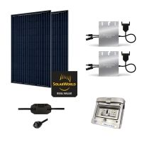 Kit Solaire 560W Autoconsommation - Plug & Play