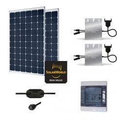Kit Solaire 600W Autoconsommation - Plug & Play