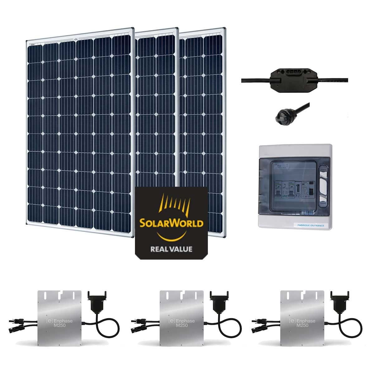 kit solaire 900w autoconsommation plug play. Black Bedroom Furniture Sets. Home Design Ideas