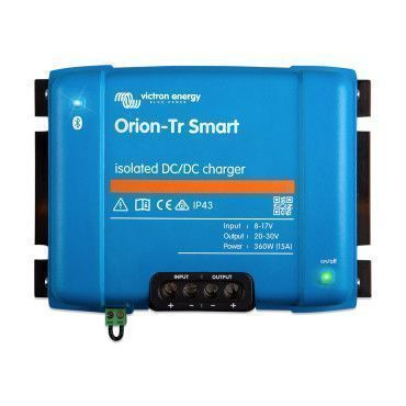 Chargeur Orion-TR Smart isolé DC-DC 12V/12V 30A (360W) / Véhicule EURO 5 et 6 (chargeur booster)