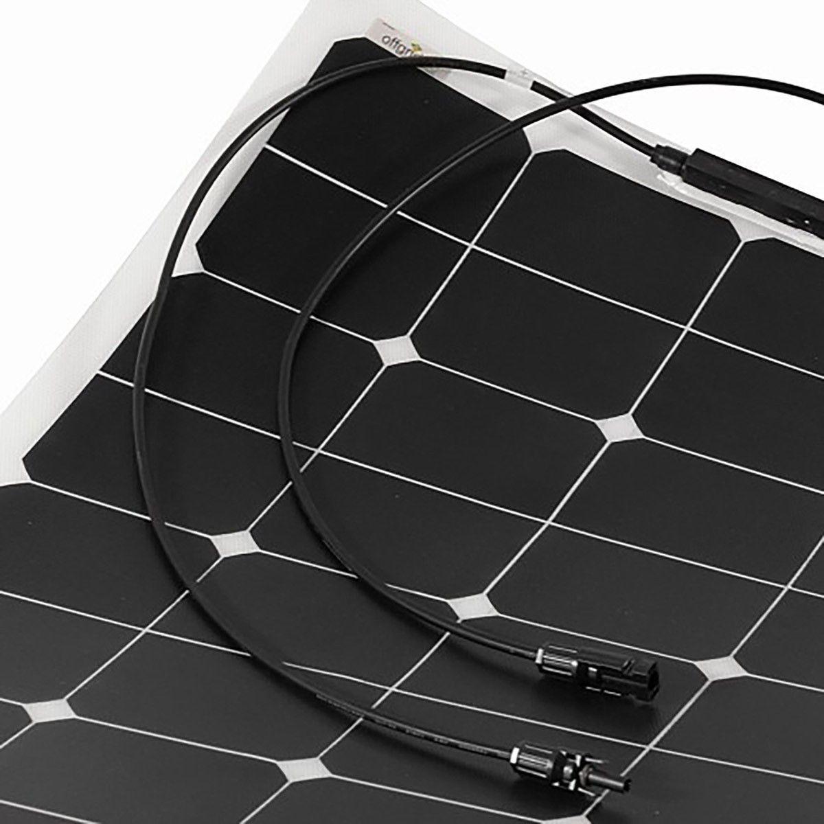 panneau solaire 150w souple semi flexible cellules sunpower etfe. Black Bedroom Furniture Sets. Home Design Ideas